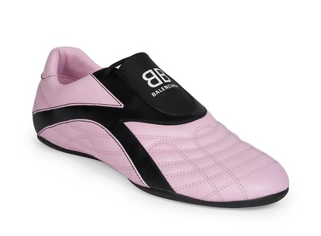 Item - Pink/Black Sneakers Size US 6 Regular (M, B)