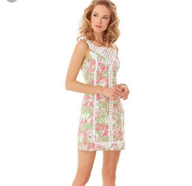 Item - Pink Macfarlane Shift Forgot My Trunks Short Casual Dress Size 4 (S)