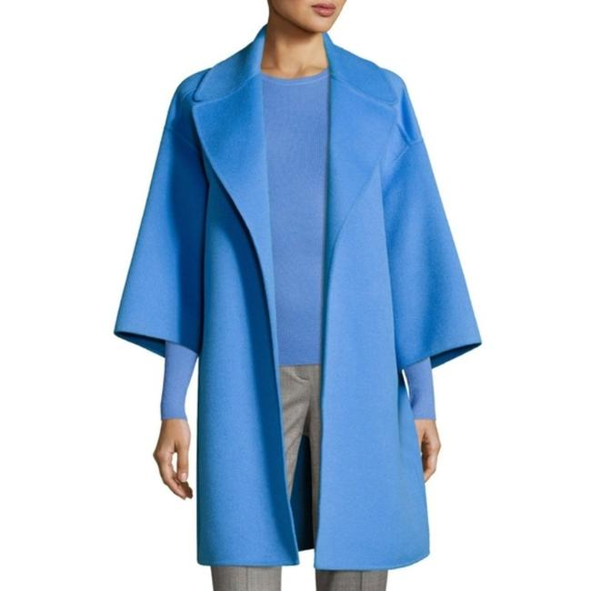 Item - Blue Cadet Melton Car Coat Size 4 (S)