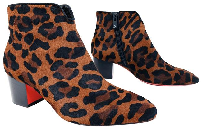 Item - Brown Disco 70s Leopard Pony Hair So Kate Marmada Boots/Booties Size EU 35 (Approx. US 5) Regular (M, B)