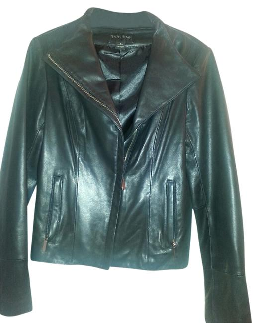 White House Black Market Leather Jacket