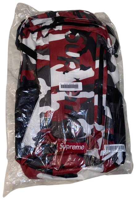 Item - Red Camo Backpack