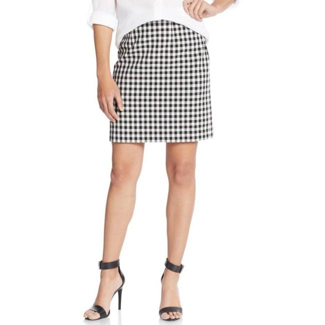 Item - Black and White W Dvf & Plaid W/ Pleat In Skirt Size 8 (M, 29, 30)