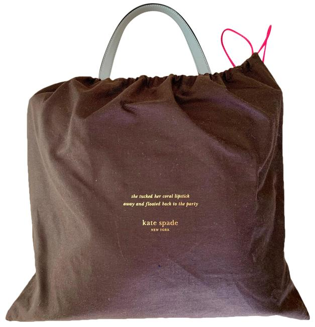 Item - Light Grey Leather Tote