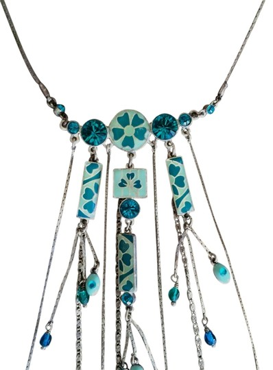 Preload https://item1.tradesy.com/images/pilgrim-turquoise-dangle-charm-necklace-2876020-0-0.jpg?width=440&height=440