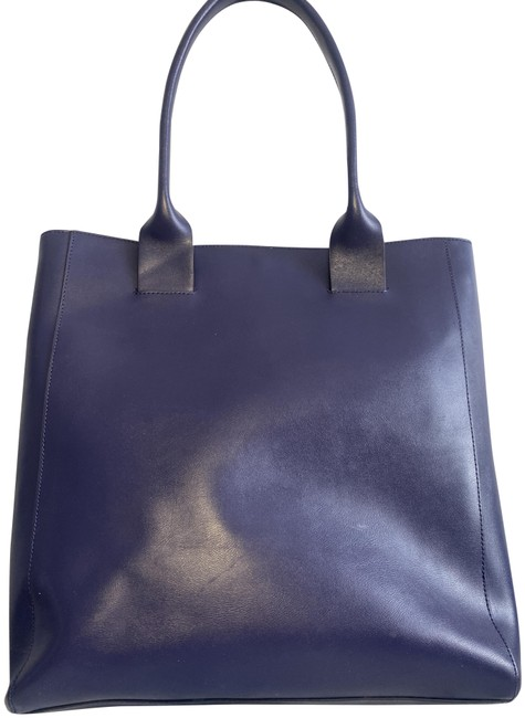 Item - With Gold Hardware Cleo Purple Leather Tote