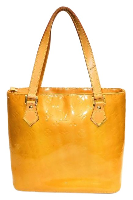 Item - Houston Monogram Verni M91121 Ladies Jaune / Jaune / Yellow Leather Tote