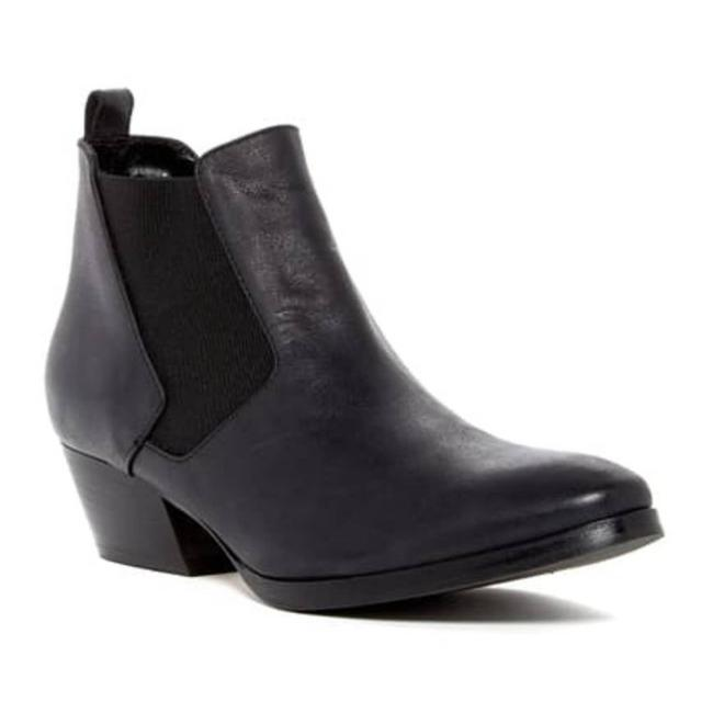 Item - Black Fabia Chelsea Leather Boots/Booties Size US 9 Regular (M, B)