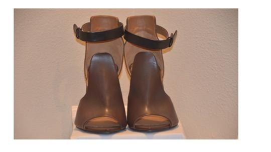 Givenchy Black and Brown Wedges