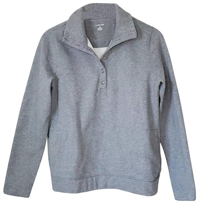 Item - Gray   Button Front Pullover S Sweatshirt/Hoodie Size 6 (S)