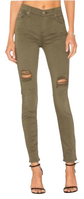 Item - Green Medium Wash The Ankle Super Skinny Jeans Size 25 (2, XS)