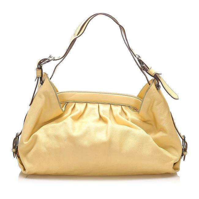 Item - Doctor Yellow Leather Shoulder Bag