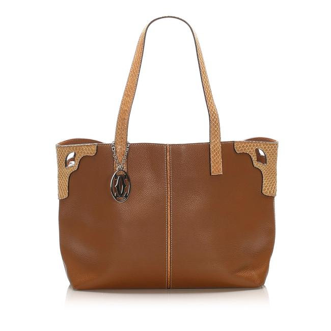 Item - Bag Marcello Brown Leather Tote