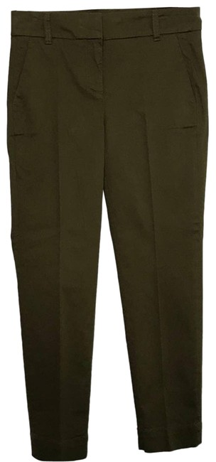 Item - Green New Cropped Stretch Olive Pants Size 4 (S, 27)