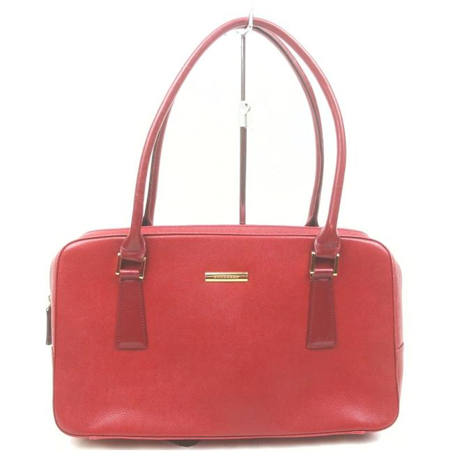 Item - Leather #n78207o68 Red Satchel