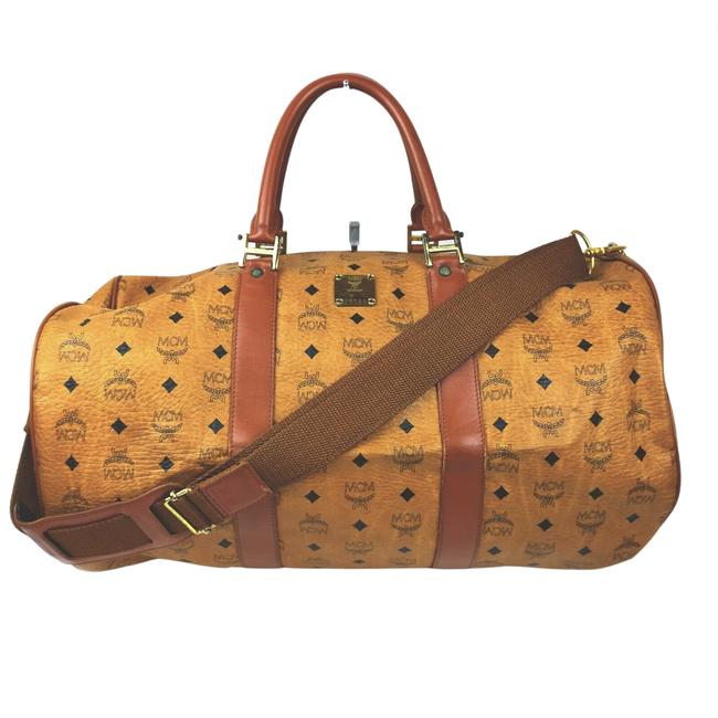 Item - Boston Leather #n78628m34 Brown Weekend/Travel Bag