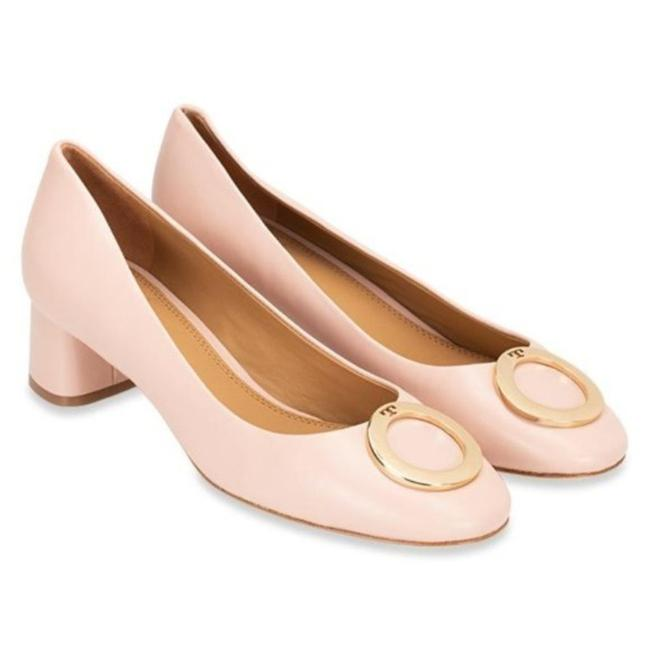 Item - Pink Gold Caterina Pumps Size US 8 Regular (M, B)