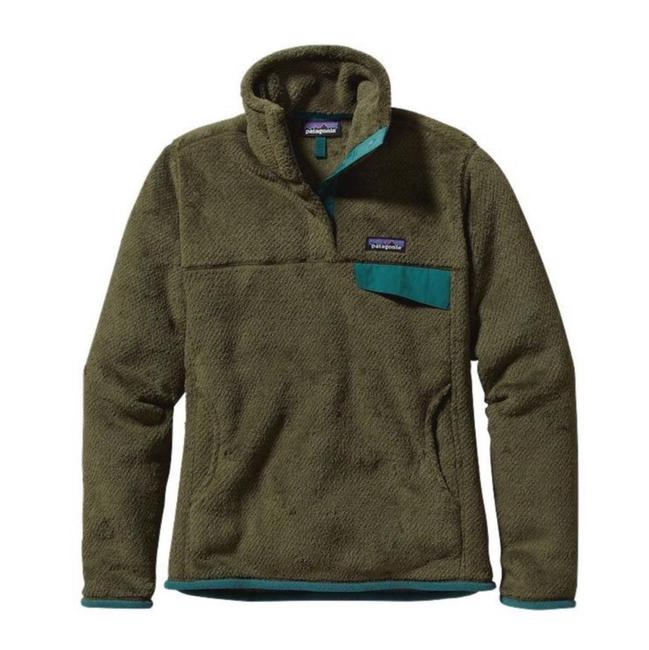 Item - Olive Green Re-tool Snap T Pullover Jacket Size 4 (S)