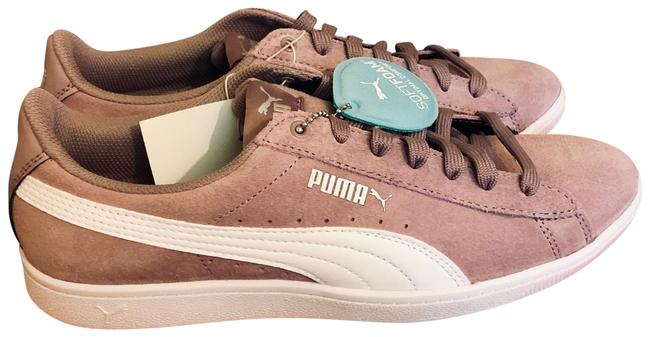 Item - Pink Gray Classic Suede Sneakers Size US 10 Regular (M, B)