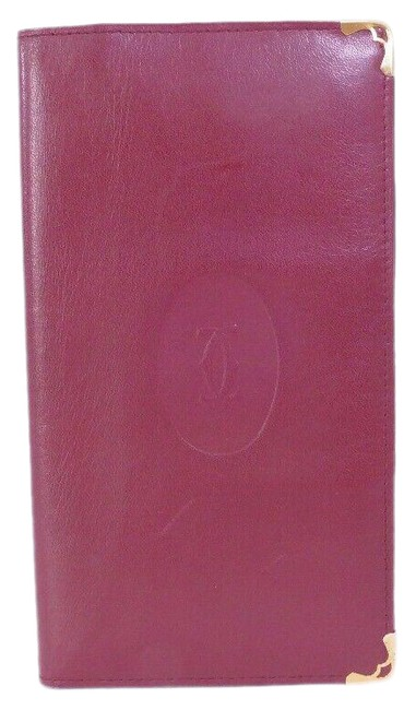 Item - Burgundy Must Line Bill Compartment***
