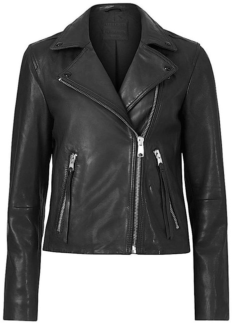 Item - Black with Tag Dalby Leather Biker Jacket Size 6 (S)