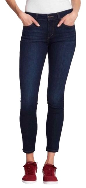 Item - Blue Dark Rinse The Icon Skinny Jeans Size 24 (0, XS)