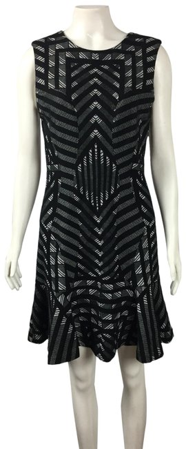 Item - Black Carlie Mid-length Night Out Dress Size 6 (S)