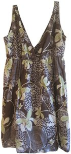 Old Navy short dress BROWN AND GREEN on Tradesy