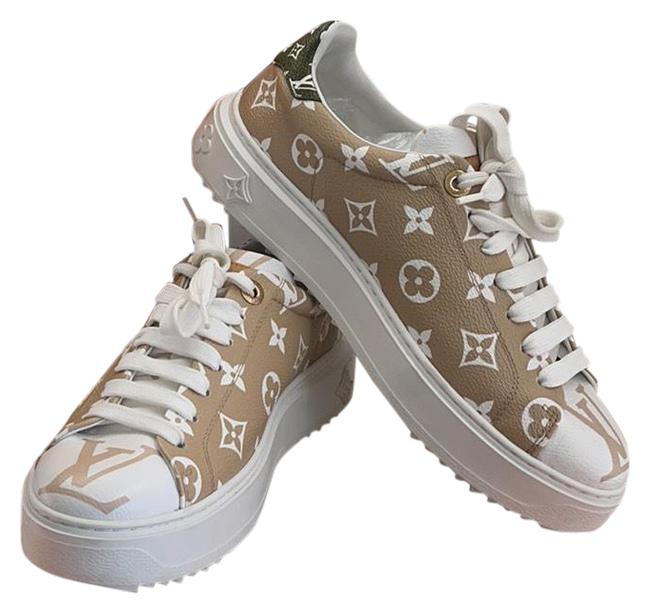 Item - Khaki Olive Fronteow Giant Limited Edition Sneakers Size EU 38 (Approx. US 8) Regular (M, B)