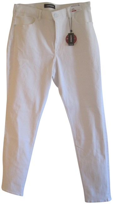 Item - White Perfect Curves High Long Jeggings Size 16 (XL, Plus 0x)
