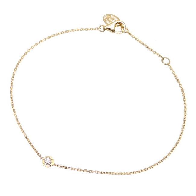 Item - Yellow Diaman Leger S Ladies 750 Gold Bracelet
