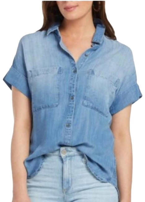 Item - Blue {cloth & Stone}   Chambray Button-down Top Size 4 (S)