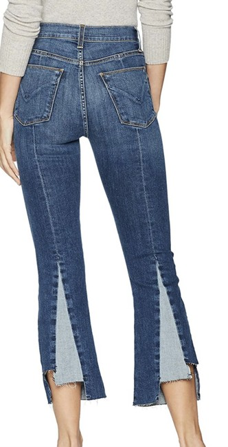 Item - Blue Medium Wash Holly High Rise Crop Capri/Cropped Jeans Size 30 (6, M)