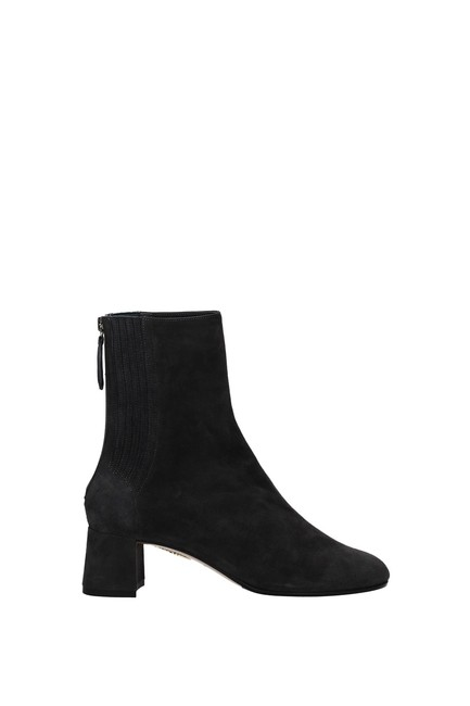 Item - Gray Ankle Saint Honore Women Boots/Booties Size EU 36.5 (Approx. US 6.5) Regular (M, B)