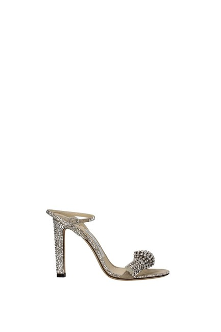 Jimmy Choo Beige Thyra Women Sandals Size EU 36 (Approx. US 6) Regular (M, B) Jimmy Choo Beige Thyra Women Sandals Size EU 36 (Approx. US 6) Regular (M, B) Image 1