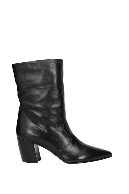 Prada Black Ankle Women Boots/Booties Size EU 40 (Approx. US 10) Regular (M, B) Prada Black Ankle Women Boots/Booties Size EU 40 (Approx. US 10) Regular (M, B) Image 1