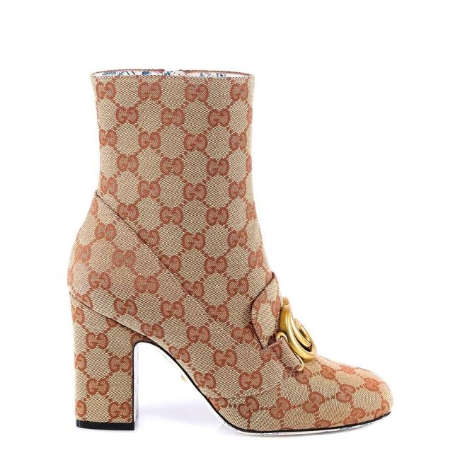 Item - Beige Brown New Logo Ankle Boots/Booties Size EU 37 (Approx. US 7) Regular (M, B)