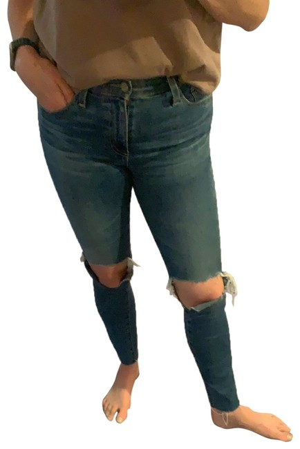 Item - Distressed Skinny and Soft. Straight Leg Jeans Size 4 (S, 27)