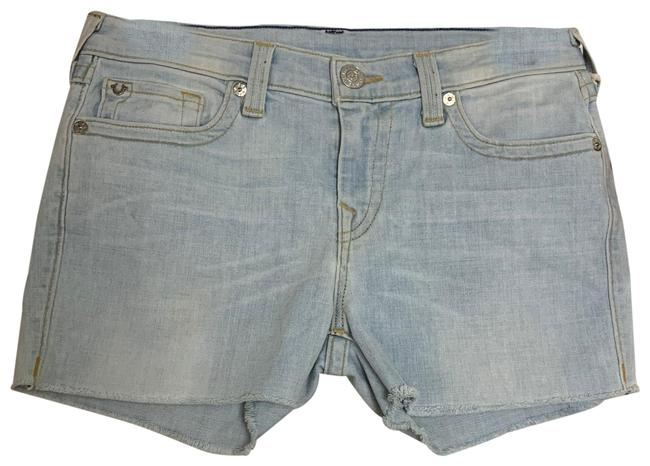 Item - Washed Out Blue Wqco18qk3 Shorts Size 6 (S, 28)