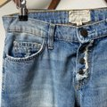 Current/Elliott Blue Medium Wash The Fling with Exposed Capri/Cropped Jeans Size 25 (2, XS) Current/Elliott Blue Medium Wash The Fling with Exposed Capri/Cropped Jeans Size 25 (2, XS) Image 5
