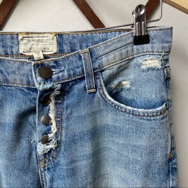 Current/Elliott Blue Medium Wash The Fling with Exposed Capri/Cropped Jeans Size 25 (2, XS) Current/Elliott Blue Medium Wash The Fling with Exposed Capri/Cropped Jeans Size 25 (2, XS) Image 6