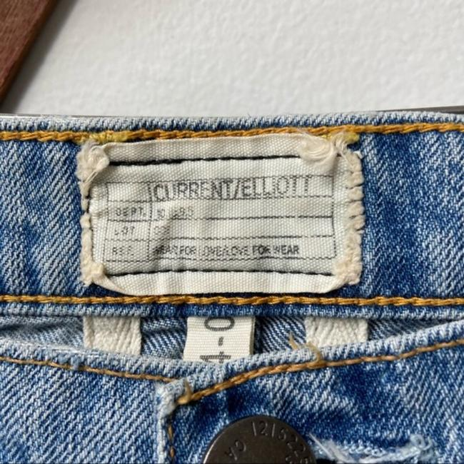 Current/Elliott Blue Medium Wash The Fling with Exposed Capri/Cropped Jeans Size 25 (2, XS) Current/Elliott Blue Medium Wash The Fling with Exposed Capri/Cropped Jeans Size 25 (2, XS) Image 7