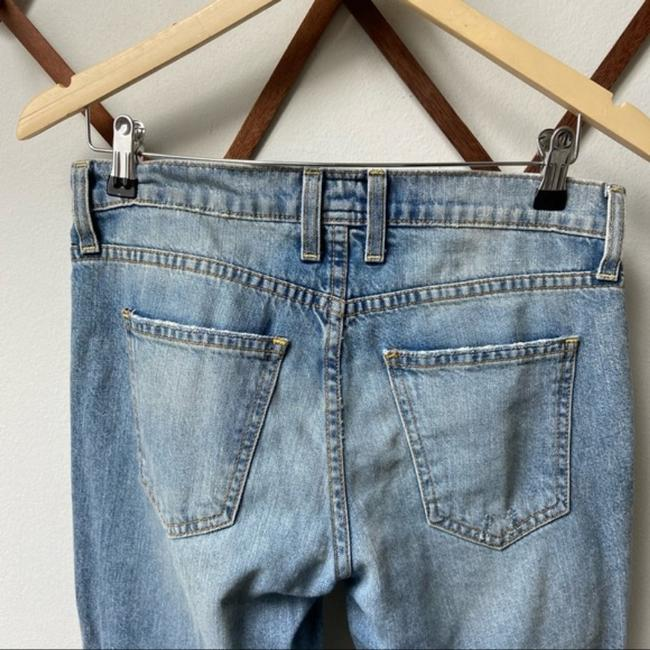 Current/Elliott Blue Medium Wash The Fling with Exposed Capri/Cropped Jeans Size 25 (2, XS) Current/Elliott Blue Medium Wash The Fling with Exposed Capri/Cropped Jeans Size 25 (2, XS) Image 8