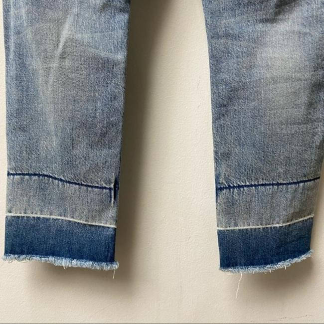 Current/Elliott Blue Medium Wash The Fling with Exposed Capri/Cropped Jeans Size 25 (2, XS) Current/Elliott Blue Medium Wash The Fling with Exposed Capri/Cropped Jeans Size 25 (2, XS) Image 9