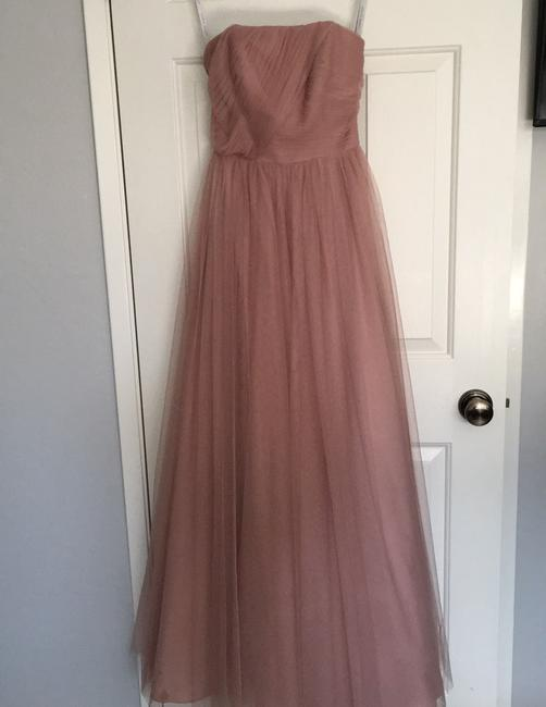 Item - Blush Tulle In Formal Bridesmaid/Mob Dress Size 2 (XS)