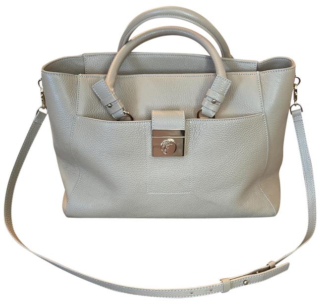Item - Camel Leather Tote