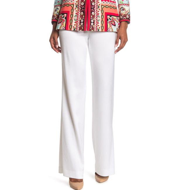 Item - White Lorinda Super High Waist Slits Pants Size 8 (M, 29, 30)