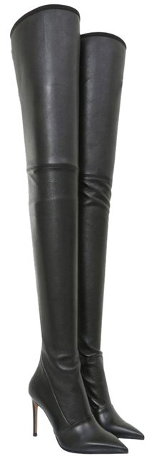 Item - Black Amazone Over-the-knee Boots/Booties Size EU 36 (Approx. US 6) Narrow (Aa, N)
