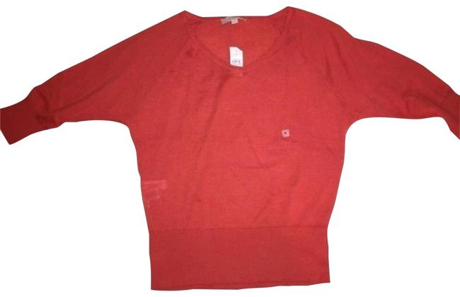 Item - Dolman Sleeve Orange Sweater