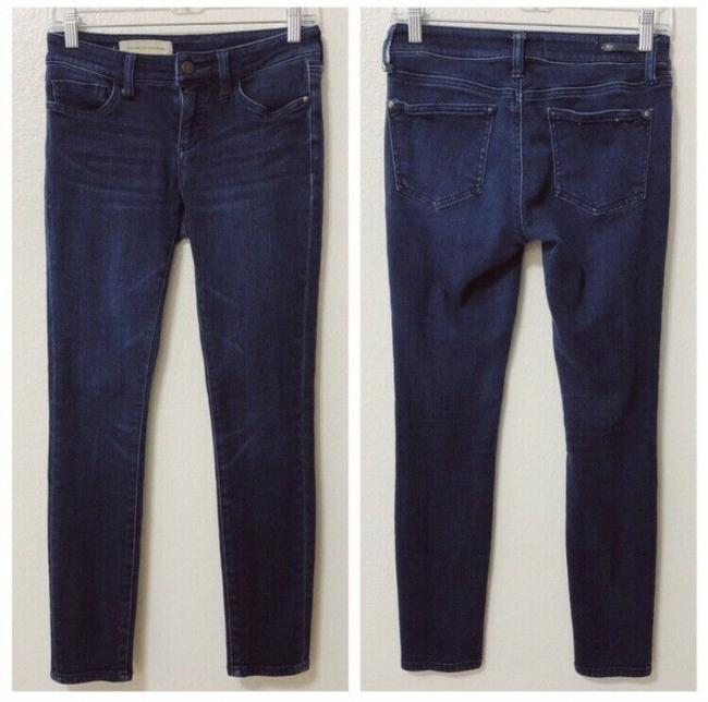 Item - Blue Dark Rinse Pilcro and The Letterpress Womens High-rise Denim Skinny Jeans Size 26 (2, XS)